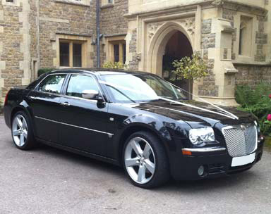 Elite Limousines Black Chrysler 300c Executive Car
